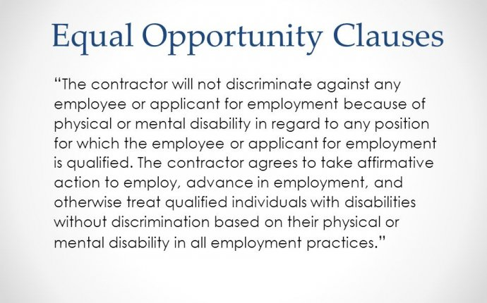 Affirmative Action Planning Including People with Disabilities