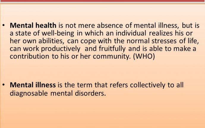 Define Mental Health | Mental Health Tips