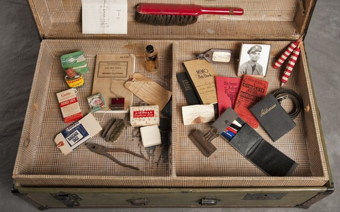 The chilling pictures of suitcases left in a New York insane