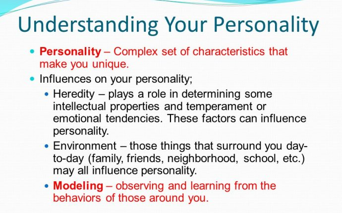Personality Complex